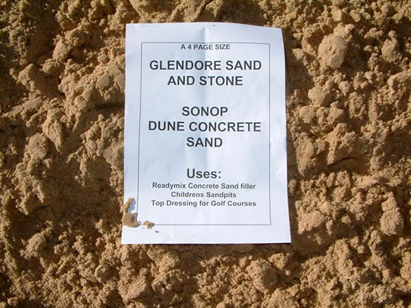 Sonop Dune Concrete Sand
