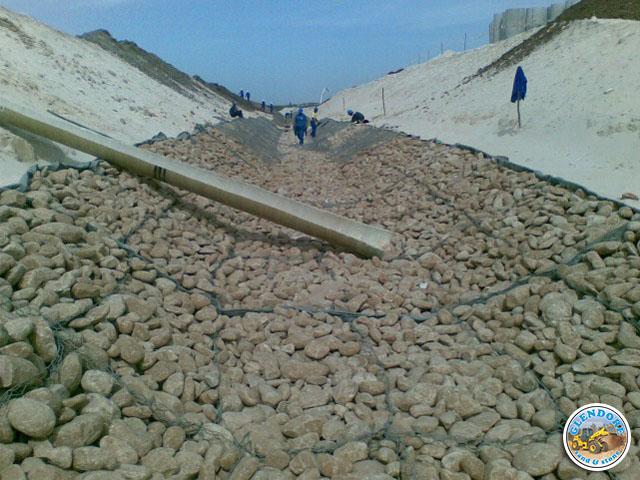 Glendore Sand and Stone Gabion Stone