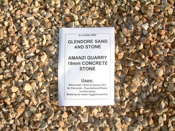 Amanzi Quarry 19mm Concrete Stone
